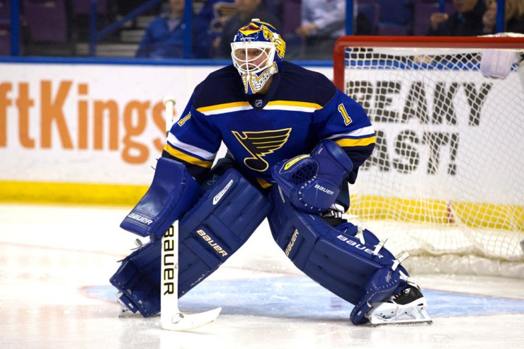 NHL: FEB 16 Stars at Blues